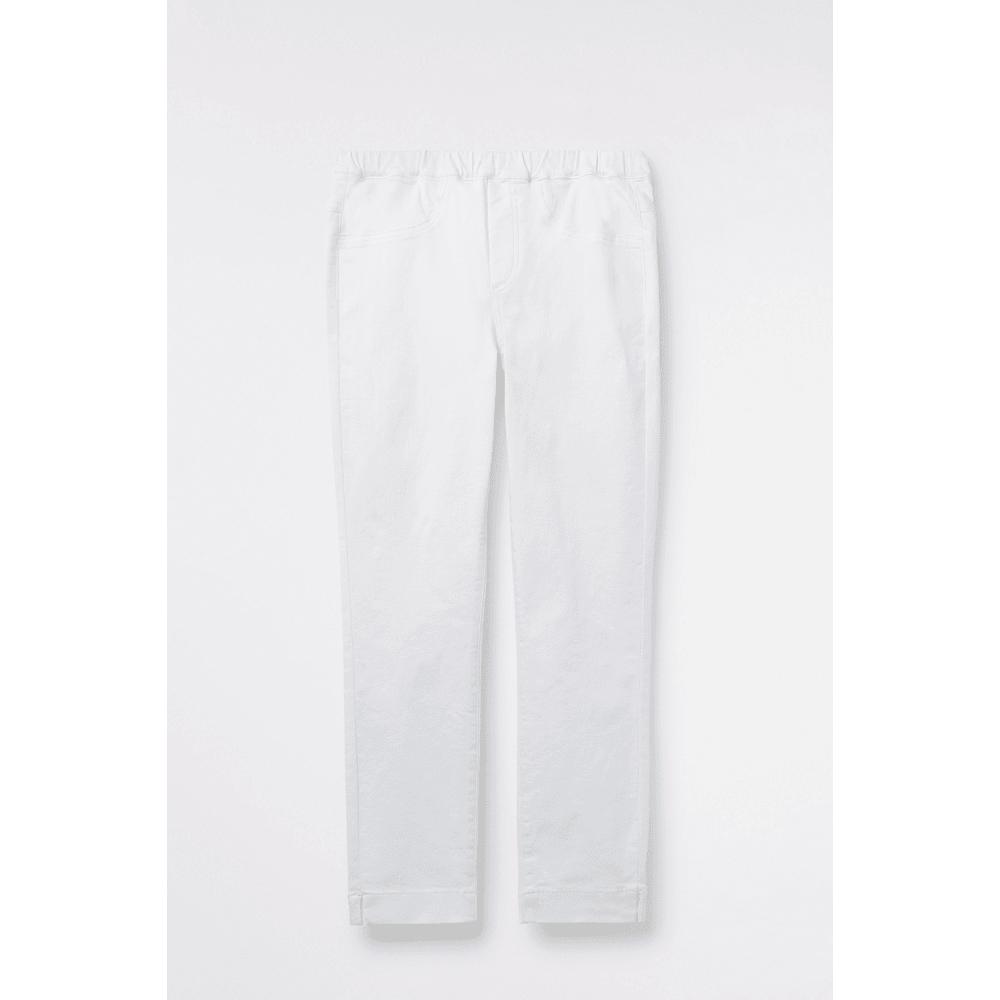 951fb51db2ffd7 White Stuff Clothing 426282 Jade Jegging Crop in White Pl - Women ...